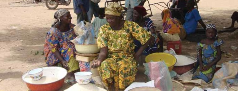 Improving smallholder income from domestic food markets.